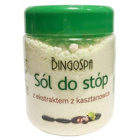 Sól do Stóp z Ekstraktem z Kasztanowca 550g BINGOSPA