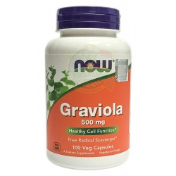 Graviola 500mg 100kaps NOW FOODS