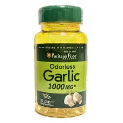 Czosnek Bezzapachowy 1000 mg (100 kaps) Puritan's Pride