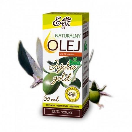 Olej Jojoba Gold Naturalny 100% Bio 50ml ETJA