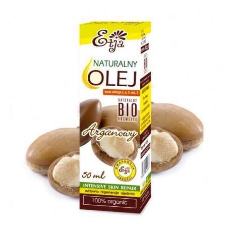 Olej Arganowy Naturalny 100% Bio 50ml ETJA