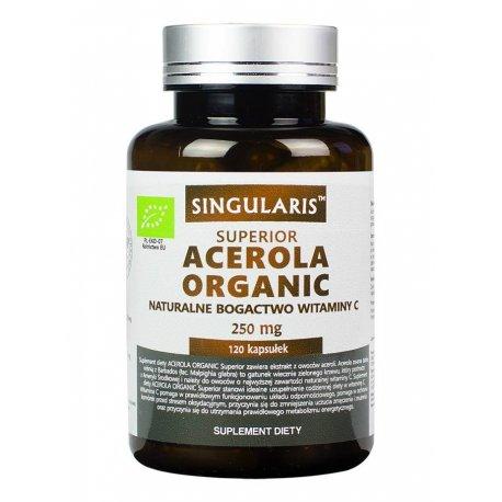 Acerola 250mg (120kaps) Witamina C SINGULARIS