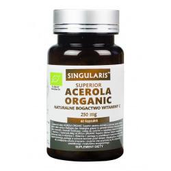 Acerola Organic 250mg (60kaps) Witamina C SINGULARIS