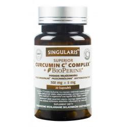 Curcumin C3 Complex Bioperine (30kaps) Kurkumina Piperyna SINGULARIS