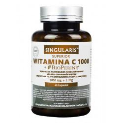 Witamina C1000 + Piperyna (60kaps) SINGULARIS