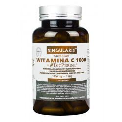 Witamina C1000 + Piperyna (120kaps) SINGULARIS