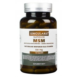 MSM Superior (120kaps) SINGULARIS