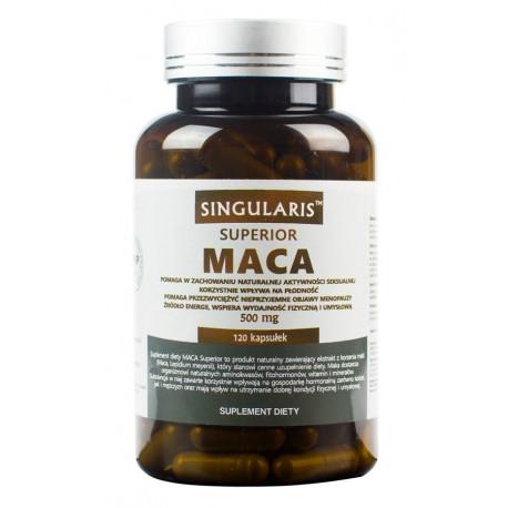Maca 500mg Superior (120 kaps) SINGULARIS