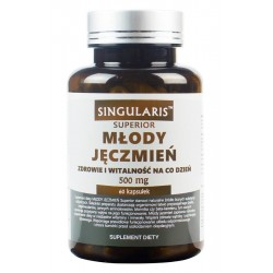 Młody Jęczmień Superior 500 mg (60kaps) SINGULARIS