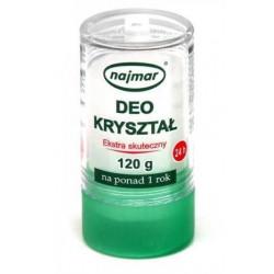 Deo Kryształ Ałun 120g Naturalny Dezodorant NAJMAR