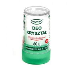Deo Kryształ Ałun 60g Naturalny Dezodorant NAJMAR