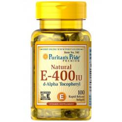 Witamina E-400 IU Naturalna (100kaps) PURITANS PRIDE