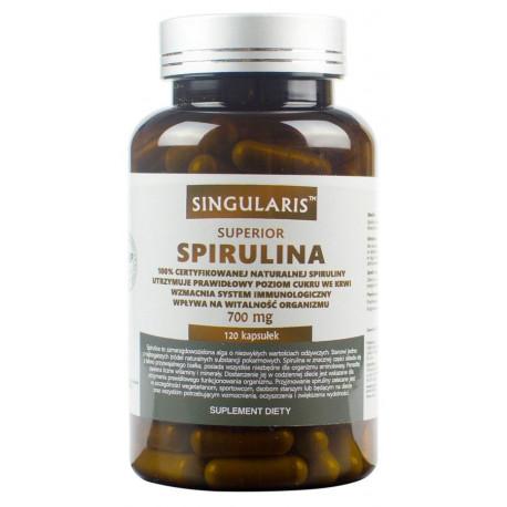 Spirulina Superior 700mg (120kaps) SINGULARIS