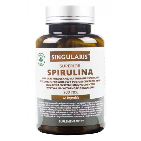 Spirulina Superior 700mg (60kaps) SINGULARIS