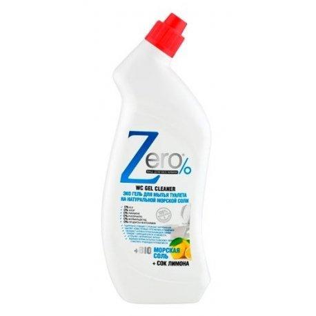 Żel do WC 750 ml Ekologiczny Sól Morska i Cytryna ZERO