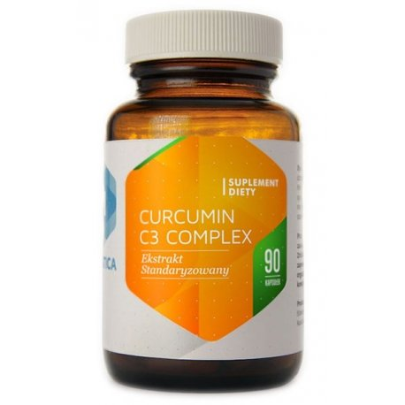 Curcumin C3 Complex Kurkuma (90kaps) HEPATICA