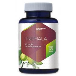 TRIPHALA 310 mg (120 kaps) Trawienie Zaparcia Hepatica