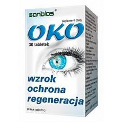 OKO (30tab) Wzrok Oczy SANBIOS