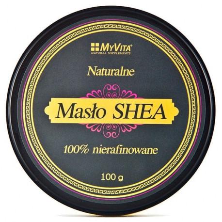 Masło Shea 100g Nierafinowane 100% MyVita
