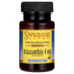 Astaksantyna Astaxanthin 4 mg (60 kaps) Swanson