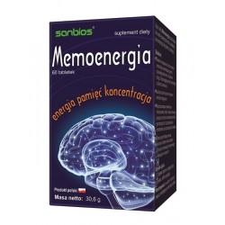 MEMOENERGIA Energia Pamięć Koncentracja (60tab) SANBIOS