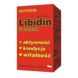 LIBIDIN (60tab) Tribulus Muira Ginseng Schisandra SANBIOS