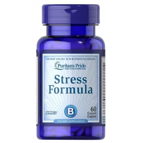 Stres Formuła Wit. B E Niacyna Nerwy (60tab) PURITAN'S PRIDE