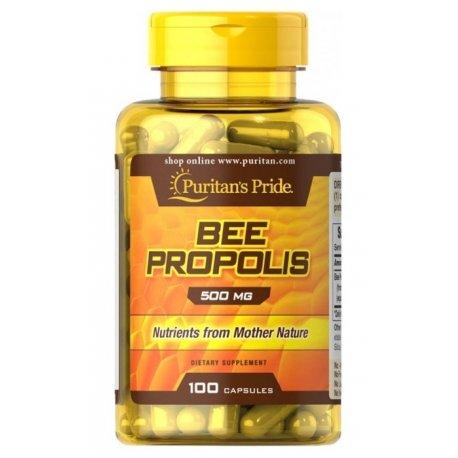 BEE PROPOLIS 500 mg (100kaps) PURITAN'S PRIDE