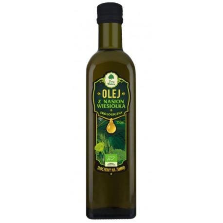 Olej z nasion wiesiołka EKO (tłoczony na zimno) 250ml Dary Natury