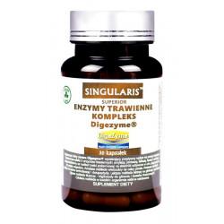 Enzymy Trawienne Kompleks Digezyme (30kaps) SINGULARIS