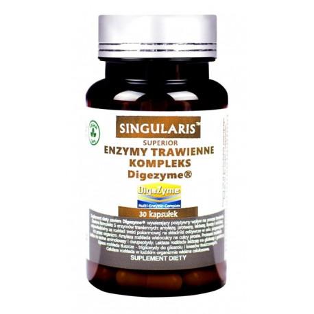 Enzymy Trawienne Kompleks Digezyme (30 kaps) Singularis