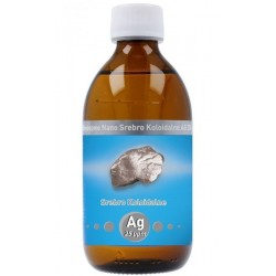 Srebro Koloidalne Niejonowe Nano Ag 25 ppm 300 ml Vitacolloids