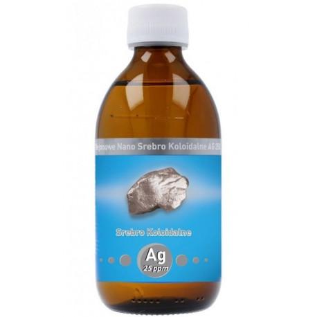 Niejonowe Nano Srebro Koloidalne Ag 25ppm 300ml Vitacolloids