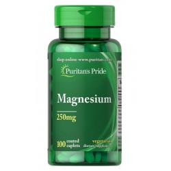 Magnez Tlenek 250 mg (100 tab) Puritan's Pride