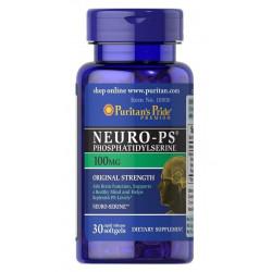 Neuro-PS (30kaps) Fosfatydyloseryna PURITAN'S PRIDE