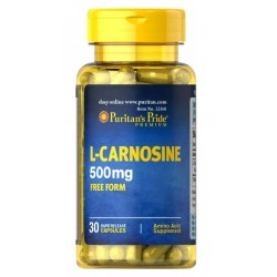 L- Karnozyna 500 mg (30kaps) Uroda PURITANS PRIDE