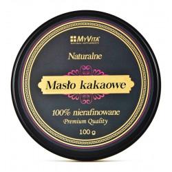 Masło Kakaowe 100% Nierafinowane 100g MyVita