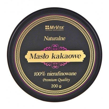 Masło Kakaowe 100% Nierafinowane 200g MyVita