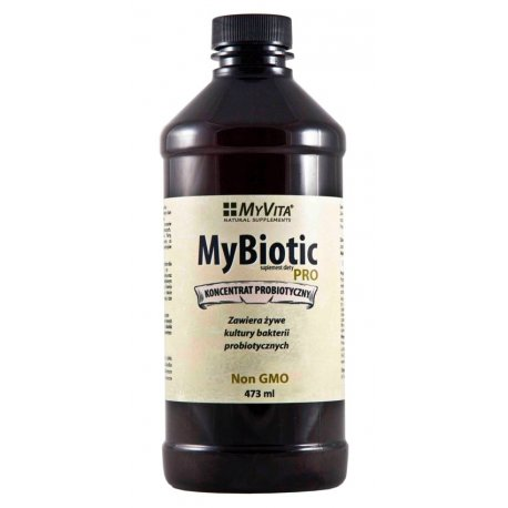 MyBiotic PRO Probiotyk Koncentrat Probiotyczny 473ml MyVita