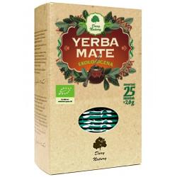 Yerba Mate EKO BIO 25x2g Herbata Pobudzająca Dary Natury
