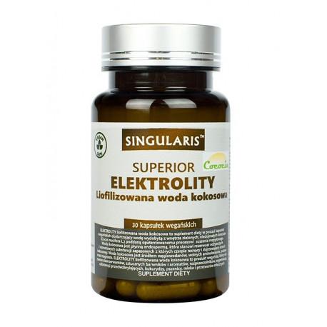 ELEKTROLITY Superior Liofilizowana Woda Kokosowa (30 kaps) Singularis