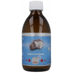 Niejonowe Nano Srebro Koloidalne Ag 50 ppm 300 ml Vitacolloids
