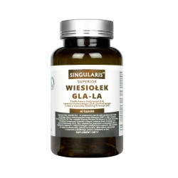 Olej z Wiesiołka GLA-LA 1000mg (60kaps) NNKT Wiesiołek SINGULARIS