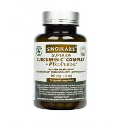 Curcumin C3 Complex Bioperine (70kaps) Kurkumina Piperyna SINGULARIS