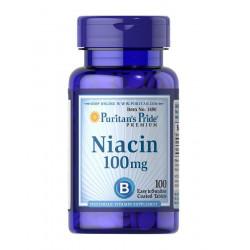 Niacyna Witamina B3 100 mg (100 tab) Puritan's Pride