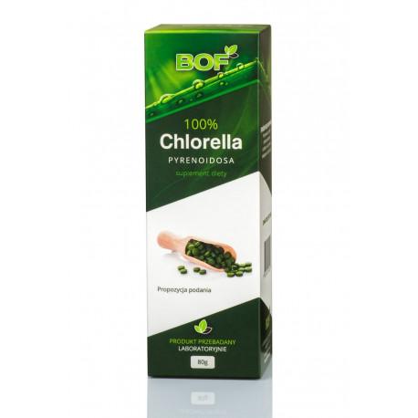 CHLORELLA PYRENOIDOSA 200mg 80g Tabletki Bio Organic Foods