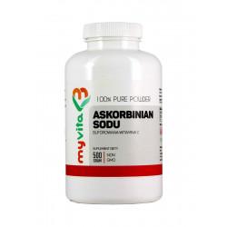 ASKORBINIAN SODU 100% 500 g (Witamina C Buforowana) Myvita