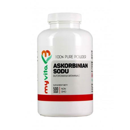 ASKORBINIAN SODU 100% 500g (Witamina C Buforowana) MYVITA