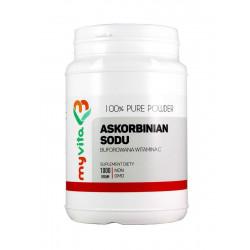 ASKORBINIAN SODU 100% 1kg (Witamina C Buforowana) MYVITA