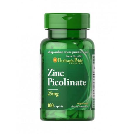 CYNK PIKOLINIAN 25 mg Wapń Fosfor (100 tab) Puritan's Pride